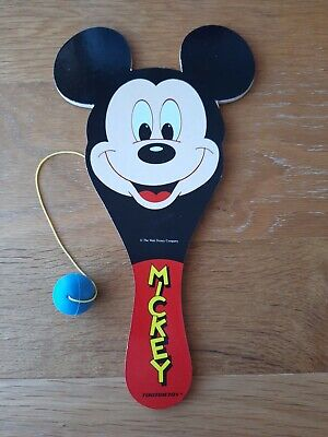 £5 • Buy Disney Vintage Mickey Mouse Bat And Ball Game Tootsie