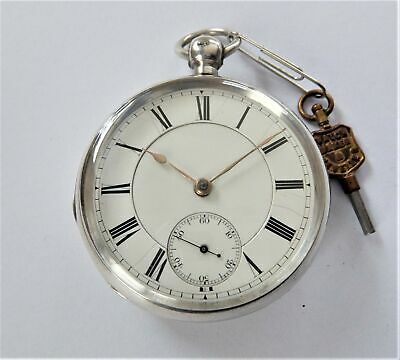£67 • Buy 1879 Silver Cased Waltham English Lever Pocket Watch In Working Order