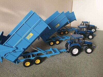 £50 • Buy Rare Britains Conversion  Collins Silage Trailer  For Tractor Siku