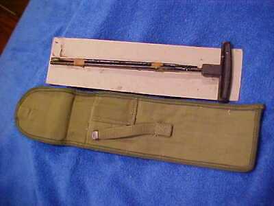 $33.59 • Buy M1 CARBINE WWII U.S. CONTRACT M8 CLEANING ROD W Case Canvas Us GI Unissued NbCp