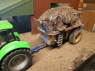 £45 • Buy Rare Britains Conversion Loaded West Muck Spreader  For Tractor Siku