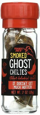 £21.24 • Buy 4 X Pack Trader Joe's Smoked Ghost Chilies With Grinder, 0.7 Oz