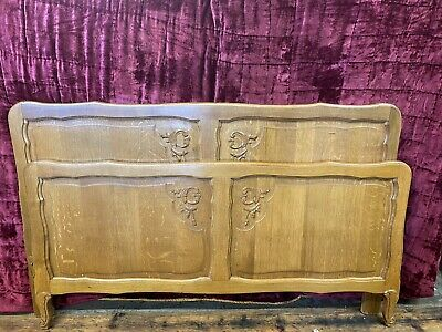 £145 • Buy French Louis Style Oak Bed Frame ( Part Of A Bedroom Set )