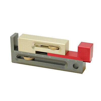 $39.34 • Buy Block Length Compensation Woodworking Tools  Slot Tool Movable Measuring M4S1