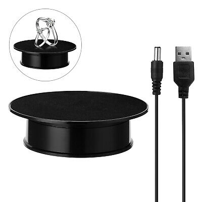 $28.92 • Buy 360 Degree Electric Rotating Turntable Display Stand For Photography Video M4S1