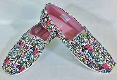 £28.77 • Buy Womens Bobs For Dogs Skechers Memory Foam Shoes Loafers Size 8
