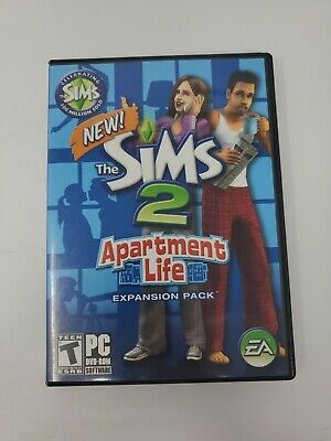 £14.48 • Buy Sims 2: Apartment Life Expansion Pack (PC, 2008) Complete Fast Shipping