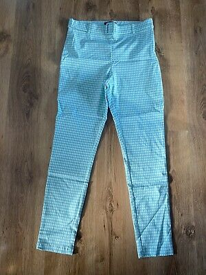 £1 • Buy Primark Size 14 Green Checked Trousers