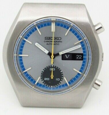 $ CDN498.02 • Buy Seiko 6139-8020 Chronograph Vintage Day Date Automatic Mens Watch
