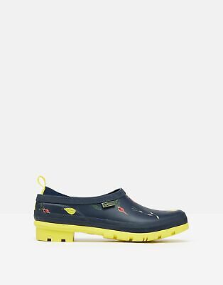 £24.95 • Buy Joules Womens Pop On Printed Welly Clogs - Navy Vegetables