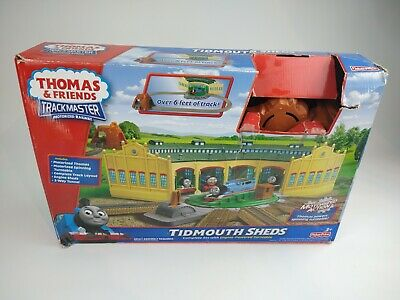 £29.95 • Buy Thomas And Friends Trackmaster Motorized Railway Tidmouth Sheds Playset
