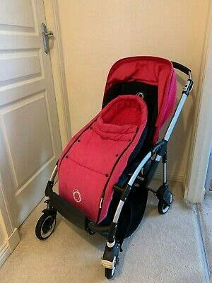 £150 • Buy Bugaboo Bee Stroller, Pink, Good Condition, With Footmuff And Rain Cover