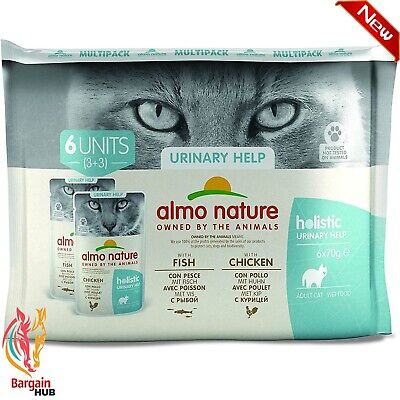 £5.95 • Buy Almo Nature Daily Functional Multipack Urinary Support-Complete Wet Cat Food (6