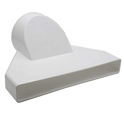 £16.13 • Buy Kair Ducting Adaptor 234mm X 29mm To 100mm - 4 Inch Rectangular To Round Channel
