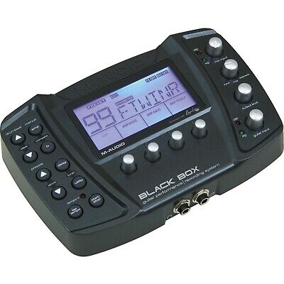 $150 • Buy Black Box Reloaded M-Audio High Quality Multi Effects Guitar Processor