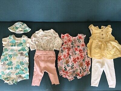 £2.40 • Buy Girls Bundle Of Clothes 0-3 Months