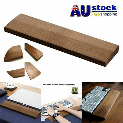 AU23.98 • Buy 60/87key Keyboard And Mouse Wrist Rest Pad Wooden Ergonomic Hand Palm Support AU
