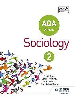 £12.50 • Buy AQA Sociology For A-level Book 2 By Laura Pountney, Tomislav Maric, Natalie...