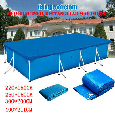 £7.99 • Buy Rectangle Swimming Paddling Pool Cover Case For Bestway Intex Garden Pool 4 Size