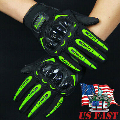 $12.99 • Buy Motorcycle Gloves Touch Screen Full Finger Hard Knuckle Tactical Military Gloves