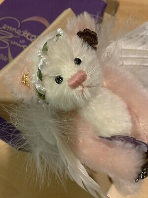 """£20 • Buy Rare Annette Funicello Angel Collection Mohair Bear """"portrait Angel' Limited Ed"""