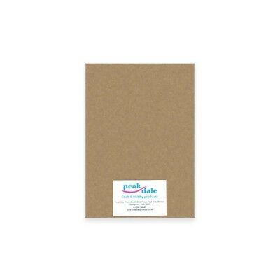 £2.25 • Buy A4 Kraft Cardstock 280gsm 10 Sheets Brown Recycled Card Craft Cardmaking Tags