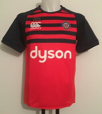 £24.99 • Buy Bath Rugby S/s Pro Training Jersey Fiery Red By Canterbury Size Men's Small New