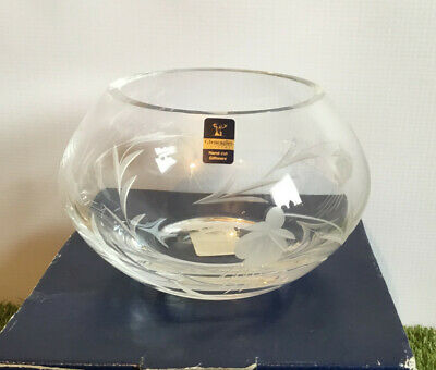 £30 • Buy Gleneagles Crystal Engraved Bowl. In Original Box, With Marking Sticker
