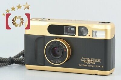 $ CDN1978.50 • Buy CONTAX T2 60 Years Anniversary Edition Gold Point&Shoot 35mm Film Camera