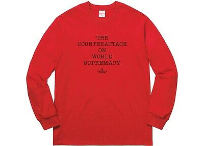 £35 • Buy Supreme, Undercover, Public Enemy Long Sleeve Tee. *New And Sealed*