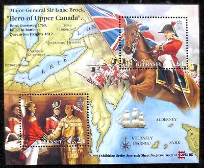 £1.20 • Buy Guernsey - 1996 - Exhibition - SG MS 704 - MNH