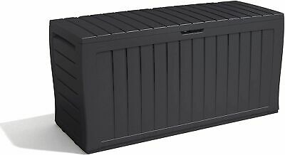 £52.10 • Buy KETER Xl Large Storage Shed Garden Outside Box Bin Tool Store Lockable New