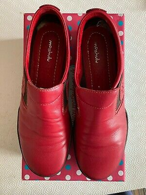 £29.99 • Buy Moshulu Ladies Shoes Rice Pudding Red - UK Size 5 (EU 38) - Worn Once