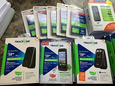 $ CDN12.13 • Buy Lot Of 15 Assorted ****tracfone*** Read***read Discription, New