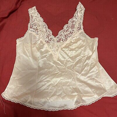 $18.99 • Buy Vintage Maidenform Sweet Nothings Camisole Top!  Size 34. Light Pink