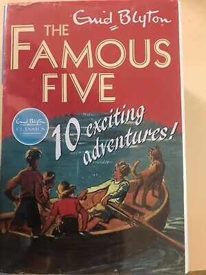£23.99 • Buy The Famous Five Box Set Of 10 Books 1-10 By Enid Blyton Brand New Unopened