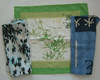 £3 • Buy Mixed Sizes 3 Pillowcases. Jeff Banks/ports Of Call And Oriental Designs.