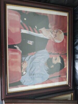 £35 • Buy George Best And Bobby Charlton Picture