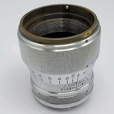 $49.99 • Buy Rear Lens Barrel Only M39 Leica Screw Mount From Canon 85mm F2 Serenar Lens