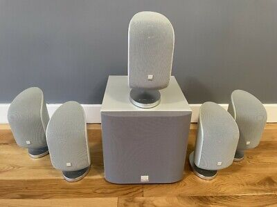 £250 • Buy Bowers & Wilkins B&W MT-50 / M-1 Home Theatre Surround Sound Speakers Subwoofer