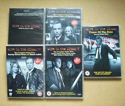 £9.95 • Buy Wire In The Blood - Series 1 To 5 Plus Prayer Of The Bone - Crime Drama (DVD)