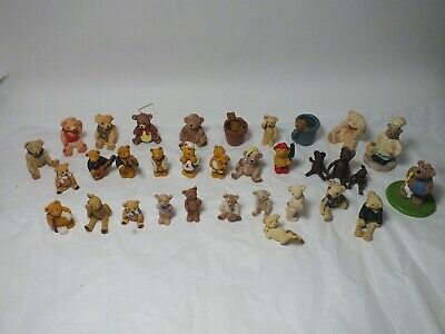 £15 • Buy 33 Miniature Resin Teddy Bears, Assorted, Collectable