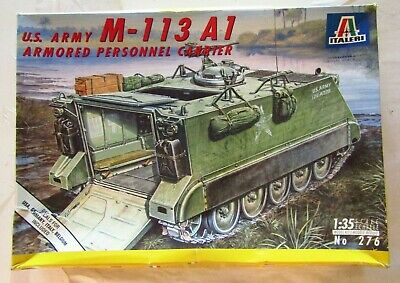 $19.99 • Buy 1:35 Italeri Us Army M-113 A1 Armored Personnel Carrier Model #276 Unassembled