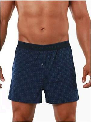 $9.99 • Buy Perry Ellis Men's Luxe Button Fly Boxer Short, Dots - Navy, Size X-Large 1m2g