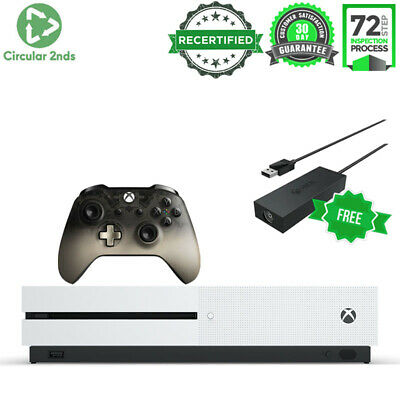 AU319 • Buy Microsoft Xbox One S 500gb Gaming Console Controller Video Game 4k Ultra Hd Dvd