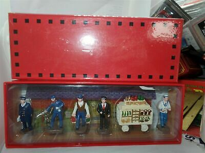 £21 • Buy Atlas French Dinky RAILWAY STATION FIGURES SET BOXED NEW