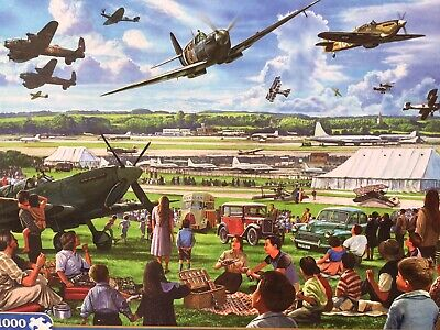 £8.60 • Buy Gibsons Best Puzzle Maker, The Airshow.by Steve Crisp. 1000 Pieces.100% Complete