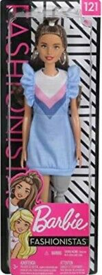 £6.95 • Buy Barbie Fashionistas Doll With Long Brunette Hair And Prosthetic Leg