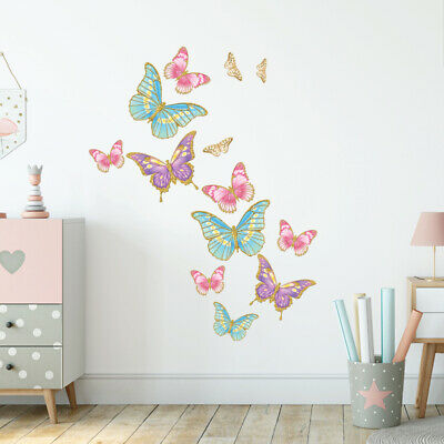 £14.95 • Buy Butterfly Wall Stickers, Wall Decals Collection, Glitter Butterfly Bfly.1