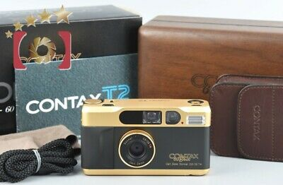 $ CDN2063.52 • Buy CONTAX T2 60 Years Anniversary Edition Gold Point&Shoot 35mm Film Camera